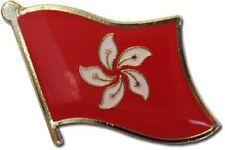 Wholesale Pack of 50 Hong Kong Country Flag Bike Hat Cap lapel Pin