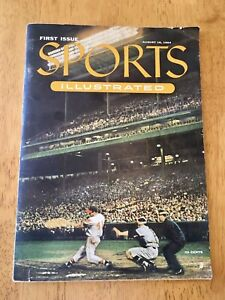 1954 Sports Illustrated First 1st Issue August 16 Authentic w/ Cards Willie Mays