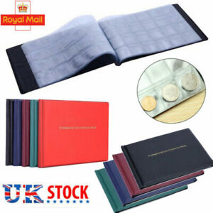 240 Coin Album Penny Money Storage Book Case Folder Holder Collection Collecting
