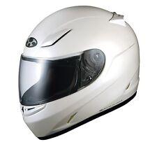 OGK KABUTO FFR3 Pearl WHITE M Medium  Helmet Japanese Model