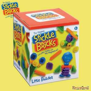 Stickle Bricks Little Builder Construction Set with Assorted Shapes