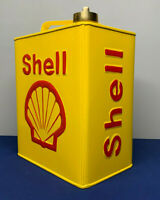 Petrol Cans Shell Reproduction Decorative Jerry Can Brass Caps