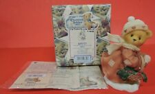 1999 Cherished Teddies Shirley Figurine 533777-Old Fashion Country Christmas