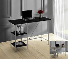 Modern Home Office Desk Computer PC Table Workstation - Bookcase Shelf - storage