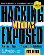 Hacking Exposed Windows: Microsoft Windows Security Secrets and-ExLibrary