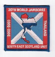 Boy Scouts Scotland UK - badge World Jamboree 2003 South East Scotland Unit