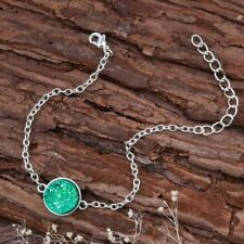 Girls/Ladies Resin Mermaid Bracelet 6 Colours Silver Plated Fashion Jewellery