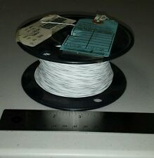 ( 500 FT Spool ) M16878/4BEE-98 24Awg Gray & White Cable Wire 600V 19 Strand