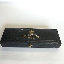 Antiguo caso 1895 Santo dinero caja Original Vacío