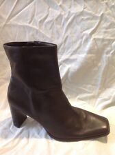George Brown Ankle Leather Boots Size 41