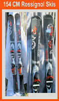 snow skis Rossignol 154 CM  w Rossignol Brand Bindings Attraxion in San Diego