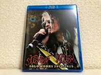 Steven Tyler Solo Works 2014 - 2015 Blu-ray 1 Disc Case Set Rock Music Aerosmith