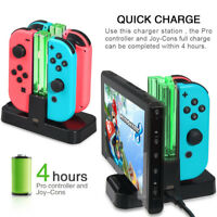 DOBE Joy-Con 4 in 1 Charging Dock USB LED Indication for Nintendo Switch Control