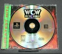 WCW Vs The World PS1 Disc Only