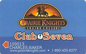 Prairie Knights Casino - Fort Yates, ND - Slot Card
