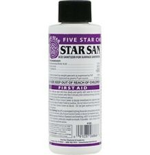 Star San No Rinse Sanitizer for Homebrew from Five Star 4 oz Fast Free Shipping!