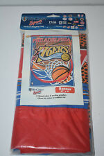 "NBA Philadelphia 76ers Vertical Flag / Banner - 27"" by 41"" - NIP"