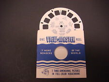 Sawyer's Viewmaster Reel,1949 Manila Philippine Islands, 5600