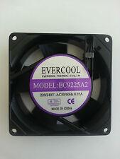 Evercool 92mm x 92mm x 25mm AC 220/240V 2800rpm industrial fan EC9225A2