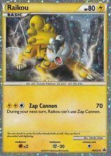 Raikou Prime - Promo 2010 - HGSS19 - Carte Pokemon Neuve VO