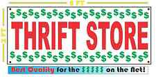 THRIFT STORE Full Color Banner Sign 2x5
