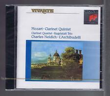 MOZART CD NEW CLARINET QUINTET CHARLES NEIDICH / L'ARCHIBUDELLI