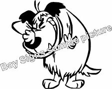 Muttley Wacky Races Gloss Vinyl Car Sticker Auto Decal Scooter Graphic