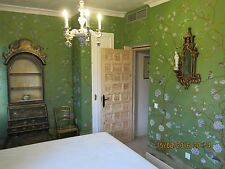 CHINOISERIE HANDPAINTED WALLPAPER: one roll of 3 by 8 ft, custom size available