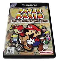 Paper Mario The Thousand Year Door Nintendo Gamecube PAL *Complete*