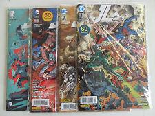 4x JLA nº 1 + 2 + 3 + 4 (DC Comics) - estado 0-1 (individuales embolsado)