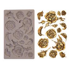 FRAGRANT ROSES - RE-DESIGN Prima Decor Moulds Molds Food Safe Silicone #644901