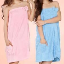 Soft Microfiber Women Body Wrap Towel Dress Elasticated Beach Bath Pool Shower