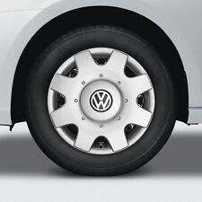 Original Volkswagen Radzierblende Golf Caddy Touran 16 Inch New! Hub Caps Set