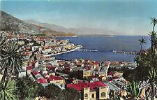 BR37951 Monaco vue generale sur le port et monte carlo monaco