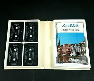 ASSIMIL Dutch with Ease Multimedia Pack Workbook and 4 Cassettes