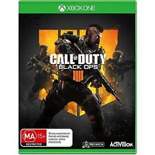 Call of Duty: Black Ops 4 (Xbox One, 2018)