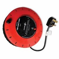4 WAY HEAVY DUTY CABLE 15M METER EXTENSION REEL LEAD MAINS SOCKET 13 AMP NEW