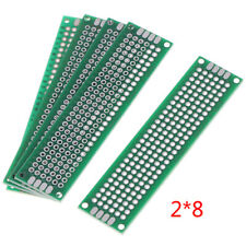 New Listing5x Double Side 2x8cm Prototype Pcb Universal Printed Circuit Board Copper Pl Sv