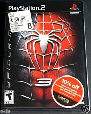 SPIDER-MAN 3 Sony PS2 Brand New Factory Sealed Video Game RARE Retail Stickers