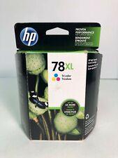 HP 78XL Genuine Ink Cartridge HP C6578AN C6578A DeskJet 460 5740 in Box Nov 2015