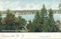 SKANEATELES NY – Skaneateles Lake and Village – udb - 1906