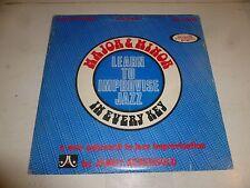 MAJOR & MINOR - Learn to improvise Jazz - 1981 USA 30-track Donble Vinyl LP