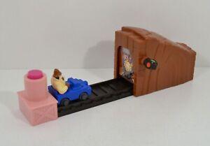 """RARE 1999 Inspector Clouseau Crash Course 9"""" Burger King EUROPE Pink Panther"""