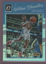 WILSON CHANDLER NUGGETS HOLO REFRACTOR SP 2016-17 DONRUSS OPTIC DENVER