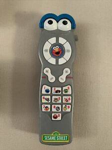 Mattel Sesame Street Silly Sounds Interactive Learning Remote Control
