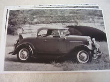 1932 FORD ROADSTER TOP UP RUMBLE SEAT  11 X 17  PHOTO /  PICTURE