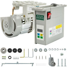 Brushless Sewing Machine Servo Motor With Needle Positioner 600 Watts