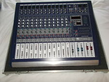 PA powered stereo mixer 12 ch - 350 watts per side