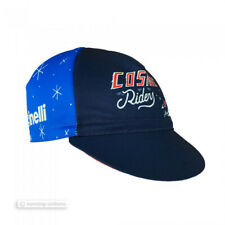 NEW Cinelli SERGIO MORA 'COSMIC RIDERS' Cycling Cap : BLUE - Made in Italy!