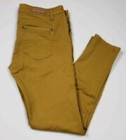 CP Jeans Womens Jeans Size 11 Skinny Leg Yellow Colored Denim Pants
